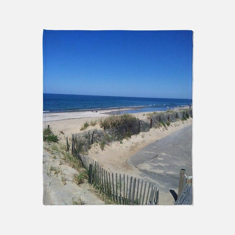 Beachy Keen Throw Blanket