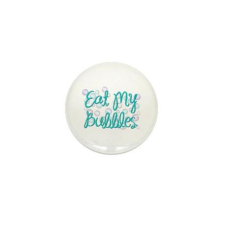 Eat my Bubbles Mini Button (100 pack)