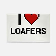 I Love Loafers Magnets