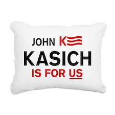 John Kasich For President 2016 Rectangular Canvas