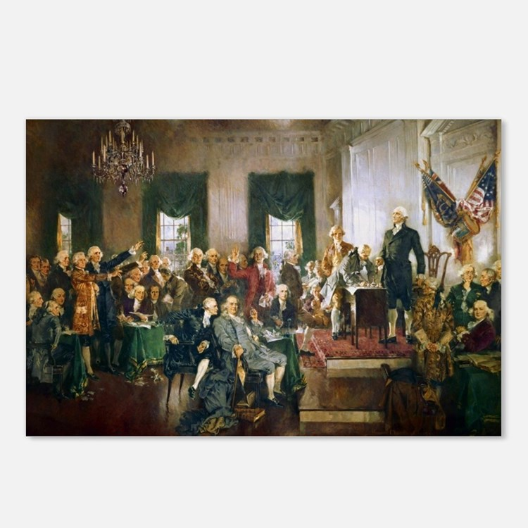 Cute Constitution Postcards (Package of 8)