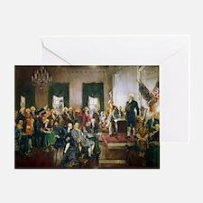 Unique Revolutionary war Greeting Card
