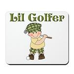 Little Golfer Mousepad