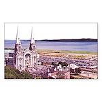Sainte Anne Beaupre Basilic Rectangle Sticker