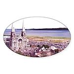 Sainte Anne Beaupre Basilic Oval Sticker