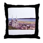 Sainte Anne Beaupre Basilic Throw Pillow