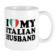 I Love My Italian Husband Mug