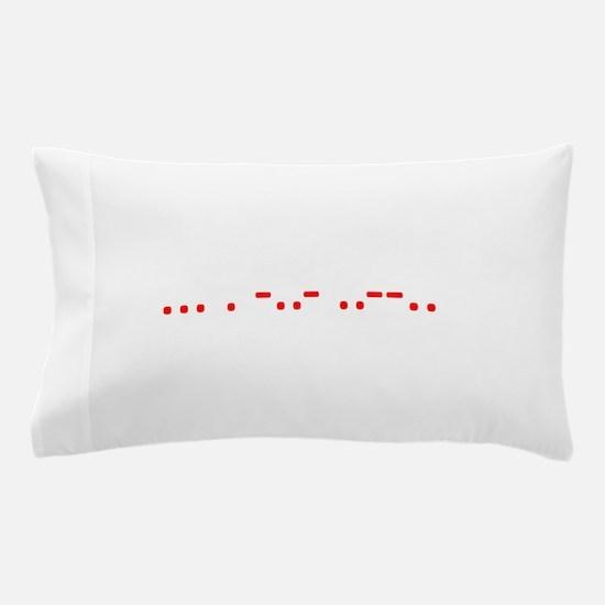 Morse Sex? Pillow Case