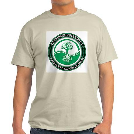 Going Green North Carolina (Tree) Light T-Shirt