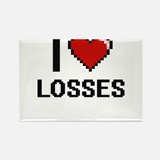 I Love Losses Magnets