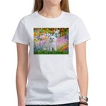 Garden / Maltese Women's T-Shirt