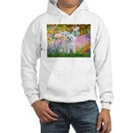 Garden / Maltese Hooded Sweatshirt