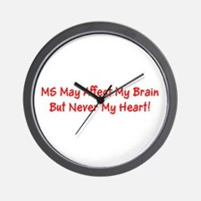 MS May Affect My Brain, But Never My He Wall Clock