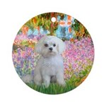 Garden / Maltese Ornament (Round)