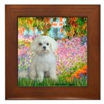 Garden / Maltese Framed Tile