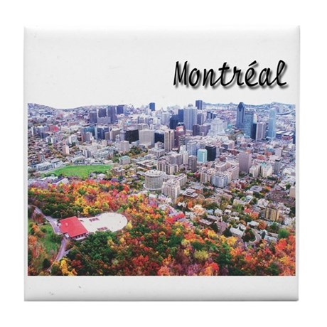 Montreal City Signature upper Tile Coaster