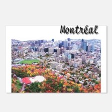 Montreal City Signature upper Postcards (Package o