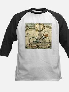 eiffel tower paris bike Baseball Jersey