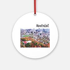 Montreal City Signature upper Ornament (Round)
