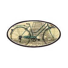 eiffel tower paris bike Patch