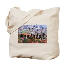 Montreal City Signature cente Tote Bag