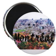 "Montreal City Signature cente 2.25"" Magnet (10 pac"
