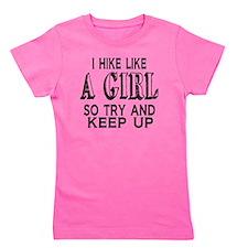 Hike Like a Girl Girl's Tee