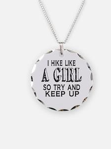 Hike Like a Girl Necklace