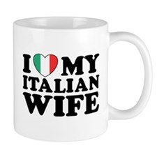 I Love My Italian Wife Mug