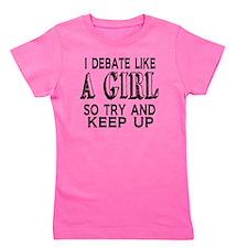 Debate Like a Girl Girl's Tee