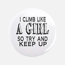 Climb Like a Girl Button