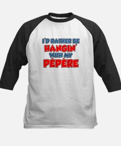 Rather Be With Pepere Baseball Jersey