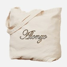 Gold Alonzo Tote Bag