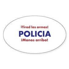 Policia Decal