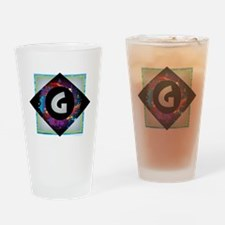 Cool G m Drinking Glass