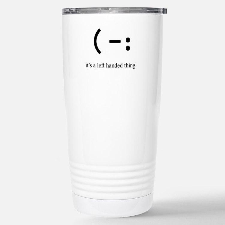 Cute Lefty Travel Mug