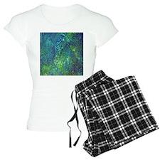 Blue Green Spackle Pajamas