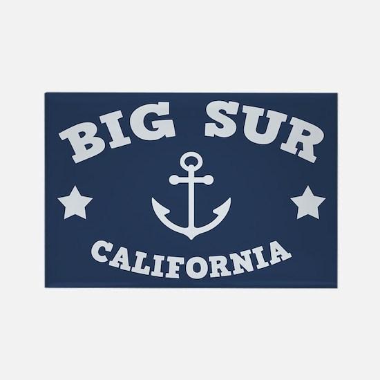 Big Sur Anchor Rectangle Magnet