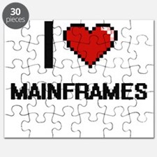 I Love Mainframes Puzzle