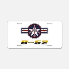B52 Aluminum License Plate