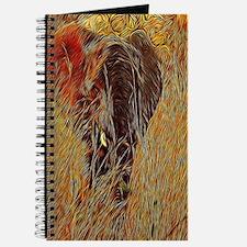 wildlife art african elephant Journal