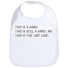 This Is a Haiku Bib