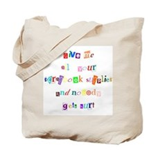 Scrapbook Ransom Tote Bag
