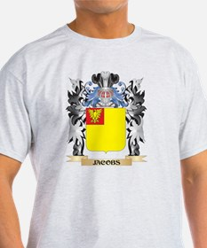 Jacobs Coat of Arms - Family Cr T-Shirt