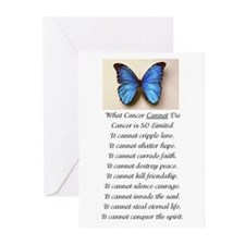 What Cancer Cannot Do Greeting Cards (pk Of 10)