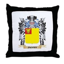 Jacoby Coat of Arms - Family Crest Throw Pillow