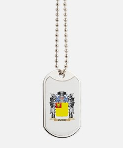 Jacoby Coat of Arms - Family Crest Dog Tags