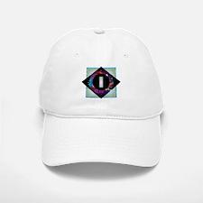 I - Letter I Monogram - Black Diamond I - Lett Baseball Baseball Cap