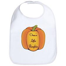Oma's Little Pumpkin Bib