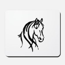 Black Horse Mousepad